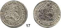 Römisch Deutsches Reich,Haus Habsburg Leopold I. 1657 - 170515 Kreuzer 1696 K-B/P-O, Kremnitz. 5,7 g. Herinek 1068.