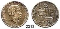 AUSLÄNDISCHE MÜNZEN,Hawaii Kalakaua 1874 - 18911/2 Dollar (Hapalua) 1883.  Schön 4.  KM 6.