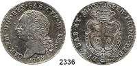 AUSLÄNDISCHE MÜNZEN,Italien SardinienCarlo Emanuele III. 1730 - 1773  Scudo 1768.  KM 60.