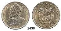 AUSLÄNDISCHE MÜNZEN,Panama 50 Centesimos 1905.  Schön 5.  KM 5.