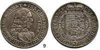 Römisch Deutsches Reich,Haus Habsburg Erzherzog Ferdinand Karl 1632 - 1662Taler 1654, Hall.  28,5 g.  Dav. 3367.  Voglh.185/II.  Moser-Tursky 513.