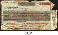 P A P I E R G E L D   -   N O T G E L D,Rheinland/Rheinprovinz Barmen-RittershausenJ. P. Bemberg, Aktiengesellschaft.  2.500.000 Mark 9.8.1923.  Scheck auf  Reichsbank in Barmen.  Keller zu 253.  Schein nicht im Keller.