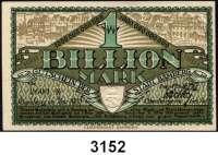 P A P I E R G E L D   -   N O T G E L D,Bayern BambergLOT von 34 verschiedenen Scheinen von 1 Pfennig bis 1 Billion Mark(ksfr.).  Dabei auch wertbeständiges Notgeld (5x).  U.a. mit Keller 225 m.