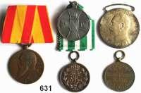 Orden, Ehrenzeichen, Militaria, Zeitgeschichte,Deutschland L O T S      L O T S      L O T SLOT von 5 Auszeichnungen.  Baden (2); Sachsen (2) und Sachsen-Altenburg.