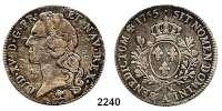 AUSLÄNDISCHE MÜNZEN,Frankreich Ludwig XV. 1715 - 1774Ecu au bandeau 1765 A, Paris.  28,81 g.  Duplessy 1680.  Dav. 1331.