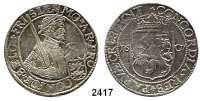 AUSLÄNDISCHE MÜNZEN,Niederlande FrieslandReichstaler 1607.  28,46 g.  Delmonte 947.  Dav. 4829.