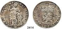 AUSLÄNDISCHE MÜNZEN,Niederlande Utrecht, Provinz3 Gulden 1786.  31,1 g.  KM 117.