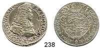 Deutsche Münzen und Medaillen,Breslau, Bistum Franz Ludwig von Pfalz-Neuburg 1683 - 173215 Kreuzer 1694, Neisse (Zeichen des Wardeins Leopold Paul Haller).  5,7 g.  F.u.S. 2740.