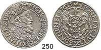 Deutsche Münzen und Medaillen,Danzig, Stadt Sigismund III. 1587 - 1632Ort (1/4 Taler) 1615.  6,25 g.  Dutkowski/Suchanek 156.
