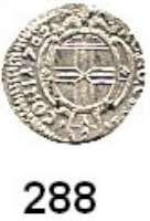 Deutsche Münzen und Medaillen,Konstanz, Stadt Leopold I. 1657 - 1705Einseitiger 1/2 Kreuzer 1702.  0,24 g.  Nau 274 var. (mit CON:).