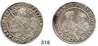 Deutsche Münzen und Medaillen,Sachsen Christian II., Johann Georg und August 1591 - 16111/2 Taler 1604 HB, Dresden.  14,49 g.  Keilitz/Kahnt 246.