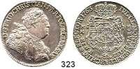 Deutsche Münzen und Medaillen,Sachsen Friedrich Christian 17632/3 Taler 1763 FWoF, Dresden.  13,94 g.  Kahnt 1006.  Buck 3.