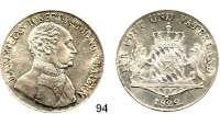 Deutsche Münzen und Medaillen,Bayern Maximilian I. Josef (1799) 1806 - 1825Konventionstaler 1822.  Kahnt 70.  AKS 49.  Jg. 16.  Thun 46.  Dav. 554.
