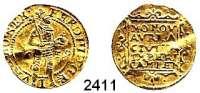 AUSLÄNDISCHE MÜNZEN,Niederlande Kampen, StadtDukat 1659 mit Titel Ferdinand III..  3,49 g.  Delmonte 1117.  Fb. 161.  GOLD