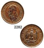 AUSLÄNDISCHE MÜNZEN,Frankreich Napoleon III. 1852 - 1870Bronzemedaille o.J.  Satirische Medaille.  Doppelkopf Wilhelm I. und Napoleon III. / Eule auf gekreuzten Knochen.  28 mm.  9,16 g.