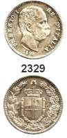 AUSLÄNDISCHE MÜNZEN,Italien Umberto I. 1878 - 19001 Lira 1899 R, Rom.  Schön 26.  KM 24.1.
