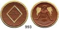 P O R Z E L L A N M Ü N Z E N,S T Ä D T E M Ü N Z E N Weixdorf-Lausa2 Mark 1921 braun, Rand, Rhombuseinfassung und die Strahlenbündel gold.  Menzel 26467.22.