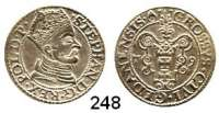 Deutsche Münzen und Medaillen,Danzig, Stadt Stephan Báthory 1577 - 1586Groschen 1579.  1,89 g.  Dutkowski/Suchanek 130.  Kop. 7433.