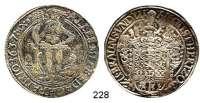 Deutsche Münzen und Medaillen,Braunschweig - Wolfenbüttel August der Jüngere 1635 - 1666Taler 1637 HS, Zellerfeld.  28,58 g.  Dav. 6337.  Welter 819.