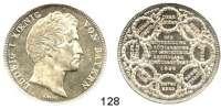 Deutsche Münzen und Medaillen,Bayern Ludwig I. 1825 - 1848Geschichtsdoppeltaler 1838.  Einteilung des Königreichs.  Kahnt 103.  AKS 99.  Jg. 67  Thun 76.  Dav. 582.