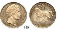 Deutsche Münzen und Medaillen,Bayern Ludwig I. 1825 - 1848Geschichtsdoppeltaler 1839.  Reitersäule Kurfürst Maximilians I.  Kahnt 104.   AKS 100.  Jg. 68.  Thun 77.  Dav. 583.