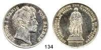 Deutsche Münzen und Medaillen,Bayern Ludwig I. 1825 - 1848Geschichtsdoppeltaler 1843.  100 Jahre Hochschule Erlangen.  Kahnt 109 a.  AKS 105.  J. 73.  Thun 82.  Dav. 590.