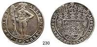 Deutsche Münzen und Medaillen,Braunschweig - Wolfenbüttel August der Jüngere 1635 - 1666Taler 1651 HS, Zellerfeld.  28,7 g.   Dav. 6340.  Welter 818.