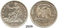 AUSLÄNDISCHE MÜNZEN,U S A Trade Dollar 1877.  Schön 79.  KM 108.