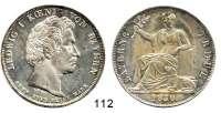 Deutsche Münzen und Medaillen,Bayern Ludwig I. 1825 - 1848Geschichtstaler 1830.  Bayerns Treue.  Kahnt 85.  AKS 125.  Jg. 40.  Thun 58.   Dav. 566.
