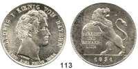 Deutsche Münzen und Medaillen,Bayern Ludwig I. 1825 - 1848Geschichtstaler 1831.  Gerecht und Beharrlich.  Kahnt 86.  AKS 126.  Jg. 41.  Thun 59.   Dav. 567.