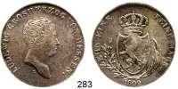 Deutsche Münzen und Medaillen,Hessen - Darmstadt Ludwig I. (X.) (1790) 1806 - 1830Konventionstaler 1809 L.  Kahnt 259.  Thun 191.  AKS 73.  Jg. 12 a.  Dav.698.