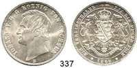 Deutsche Münzen und Medaillen,Sachsen Johann 1854 - 1873Vereinstaler 1868 B, Dresden.  Kahnt 470.  Thun 348.  AKS 137.  Jg. 126.  Dav. 895.