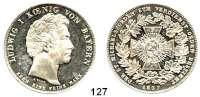 Deutsche Münzen und Medaillen,Bayern Ludwig I. 1825 - 1848Geschichtstaler 1837.  St. Michaels-Orden.  Kahnt 99.  AKS 139.  Jg. 54.  Thun 72.  Dav. 580.