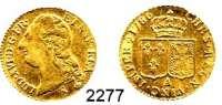 AUSLÄNDISCHE MÜNZEN,Frankreich Ludwig XVI. 1774 - 1793Louis dor 1786 A, Paris.  7,70 g.  KM 591.1.  Fb. 475.  GOLD