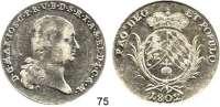 Deutsche Münzen und Medaillen,Bayern Maximilian IV. (I.) Josef 1799 - 1806 (1825)Konventionstaler 1802, München.  27,98 g.  Kahnt 50.  AKS 4.  Thun 32.  Dav. 540.  Hahn 427.