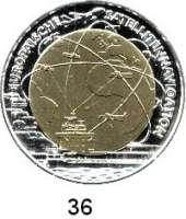 Österreich - Ungarn,Österreich 2. Republik ab 194525 EURO 2006 (Bi-Metall Silber/Niob).  Satellitennavigation.  Schön 326.  KM 3135.  Im Originaletui mit Zertifikat.