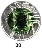 Österreich - Ungarn,Österreich 2. Republik ab 194525 EURO 2008 (Bi-Metall Silber/Niob).  Faszination Licht.  Schön 352.  KM 3158.  Im Originaletui mit Zertifikat.