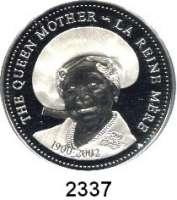 AUSLÄNDISCHE MÜNZEN,Kanada Elisabeth II. 1952 -Dollar 2002.  Zum Tode von Königinmutter Elizabeth (1900-2002).  Schön 461.  KM 503.  Im Originaletui mit Zertifikat.