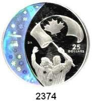 AUSLÄNDISCHE MÜNZEN,Kanada LOTS     LOTS     LOTS20 Dollars 2006; 25 Dollars 2007; 30 Dollars 2006.  Wintersport in Kanada.  Schön 678, 682, 724.  KM 666, 671, 743.  Jeweils im Originaletui mit Zertifikat.  LOT 3 Stück.