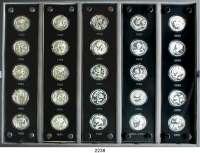 AUSLÄNDISCHE MÜNZEN,China Volksrepublik seit 19493 Yuan 2007. (Silber, 7,78g fein).  25 Jahre Silberbarrenmünze