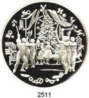 AUSLÄNDISCHE MÜNZEN,Russland Russische Föderation seit 199125 Rubel 1996 (5 Unzen Silber).  Russisches Ballett - Nussknacker.  Parch. 1427.  Schön 470.  Y. 485.