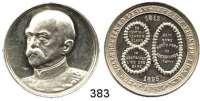 M E D A I L L E N,Personen Bismarck, Fürst Otto vonSilbermedaille 1895.  Zum 80. Geburtstag.  Kopf n. l. /