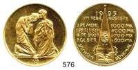 M E D A I L L E N,Notzeiten und Teuerung Bronzemedaille 1923 (Hörnlein).  SACHSEN-DENKMAL.  Hungernde. /