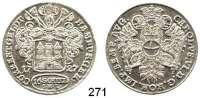 Deutsche Münzen und Medaillen,Hamburg, Stadt Karl VI. 1711 - 174016 Schilling 1727  9,11 g.  Gaed. 690.  Jg. 8.  Schön 25.