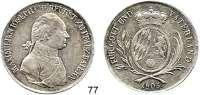 Deutsche Münzen und Medaillen,Bayern Maximilian IV. (I.) Josef 1799 - 1806 (1825)Konventionstaler 1805, München. 27,86 g.  Hahn 57.  AKS 9 Var..  Thun 39.  Dav. 547.  Fehlerhafte Randschrift :