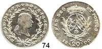Deutsche Münzen und Medaillen,Bayern Maximilian IV. (I.) Josef 1799 - 1806 (1825)20 Kreuzer 1800.  6,54 g.  Hahn 423.  Schön 183.