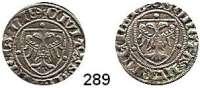 Deutsche Münzen und Medaillen,Lübeck, Stadt Sechsling o.J. (seit 1403).  1,68 g.  Behrens 57.