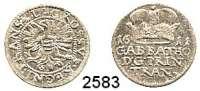 AUSLÄNDISCHE MÜNZEN,Siebenbürgen Gabriel Báthori 1608 - 1613Groschen 1611N-B.  1,57 g.