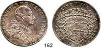 Deutsche Münzen und Medaillen,Brandenburg - Ansbach Christian Friedrich Karl Alexander 1757 - 1791Taler 1777, Schwabach.  27,94 g.  Wilm. 1098.  Dav.2014.