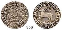 Deutsche Münzen und Medaillen,Stolberg Wolfgang Georg, 1615 - 16311/4 Taler 1625 CZ, Stolberg.  6,86 g.  Friedrich 994.